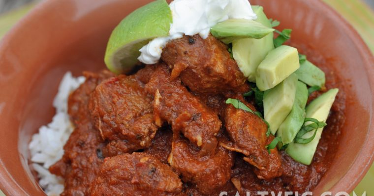 Braised Pork Chili