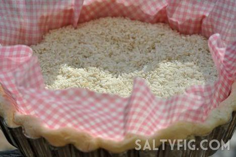 Pre-Bake Pie Crust